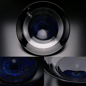 【MG敬 黒川大介個展】黒川大介 作『環状銀河大鉢』ku3 mgkei