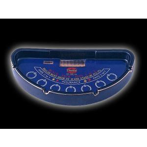 カジノグッズ 灰皿 ブラックジャック テーブル型灰皿(BIG)※ネコポス不可