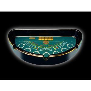 カジノグッズ 灰皿 ブラックジャック テーブル型灰皿※ネコポス不可