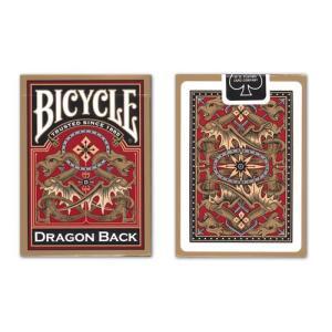 トランプ バイスクル ドラゴンバックゴールド (BICYCLE DRAGON BACK GOLD)