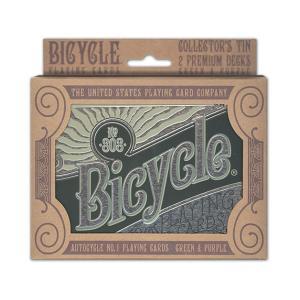 トランプ バイスクル オートバイク No.1 2パック ツイン (BICYCLE AUTOBIKE NO.1 PLAYING CARDS 2 PACK TIN)