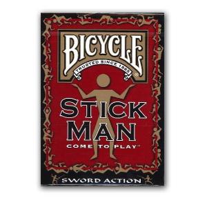 トランプ バイスクル(BICYCLE) スティックマン