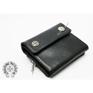 新品 クロムハーツ  ウォレット ビッグスプーン BIG SPOON ブラック 折りたたみ財布|mgmarket