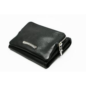 新品 クロムハーツ  ウォレット ビッグスプーン BIG SPOON ブラック 折りたたみ財布|mgmarket|02