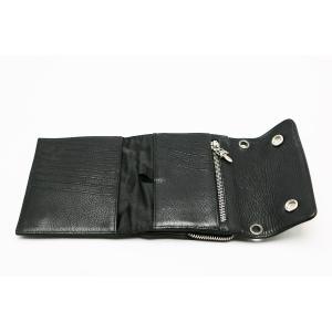 新品 クロムハーツ  ウォレット ビッグスプーン BIG SPOON ブラック 折りたたみ財布|mgmarket|03