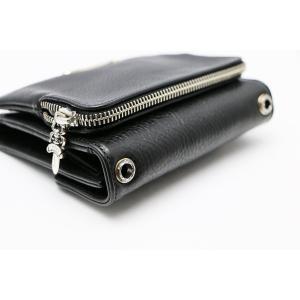 新品 クロムハーツ  ウォレット ビッグスプーン BIG SPOON ブラック 折りたたみ財布|mgmarket|04