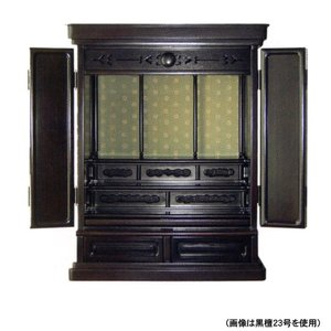 黒檀 慶 20号 唐木仏壇(上置) (2201000859 1898)|mgohnoya