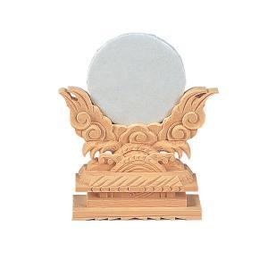 神鏡 上彫 2寸(木曽ひのき) (2207000113)|mgohnoya