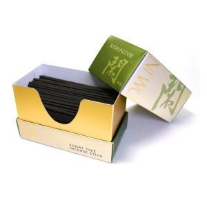 煙の少ないルームインセンス 『閑』-落ち着いた茶席の香り- 微煙 線香 (2206000443)[お線香を送る 喪中見舞い 線香 お線香]|mgohnoya