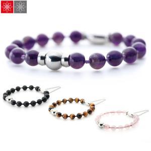 遺骨アクセサリー Soul Jewelry 念珠ブレスレット [防水タイプ] お好みの石と長さから選べます [遺骨ブレスレット] (2209002565)|mgohnoya