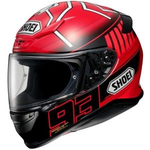 ショウエイ(SHOEI) フルフェイスヘルメット Z-7 MARQUEZ3 TC-1 レッド/ブラック S取り寄せ商品