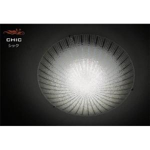 シーリングライト(照明器具) LEDタイプ/20W 自然光色 ガラス使用 円形 〔リビング照明/ダイニング照明〕〔電球付き〕〔代引不可〕