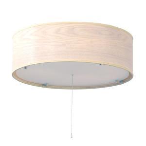 シーリングライト/照明器具 〔4灯〕 木製/天然木×アクリルプレート ELUX(エルックス) Venir 1 ウォッシュホワイト(白) 〔電球別売〕〔代引不可〕