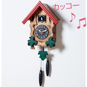 カッコー時計メルビル(壁掛け時計) 幅31.1cm×奥行14.5cm×高さ48.8cm