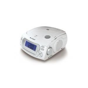 代引き不可 ANABAS CDクロックラジオ CD-RC118