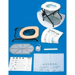 簡易 トイレ 和式 便器 サニタクリーン 送料無料|mgshoten