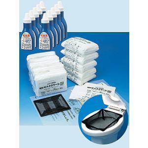 簡単 トイレ 組織用 セット 200回 非常用 簡易 携帯 非常 送料無料|mgshoten