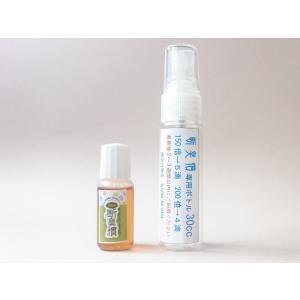消臭液 ペット消臭 ペットがなめても安心 酵素のパワー 断臭慣 初回限定お試しセット 原液 水で薄める 人畜無害 8cc 150〜200倍希釈にて使用 スプレー容器付|mgshoten
