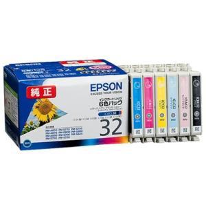 エプソン純正品 IJカートリッジ IC6CL32 6色 インクジェットプリンタ用 NP後払い不可