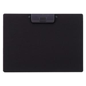クリップボード 捺印対応 A-2985-24 A4S 黒|mgshoten