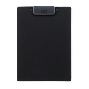 クリップボード 捺印対応 A-2980-24 A4E 黒|mgshoten