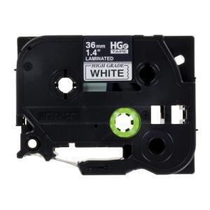 テープ カートリッジ ラベル ライター ピータッチ ハイグレード テープ ブラザー HGe-261V...