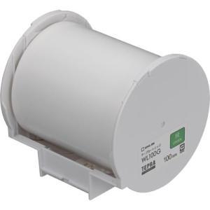 Grand テープカートリッジ 緑 WL100G ラベルライター用