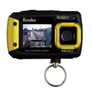 単4形乾電池対応。工事や建設現場で活躍する防塵・防水・耐衝撃デジタルカメラ。 ●焦点距離(35mmフ...