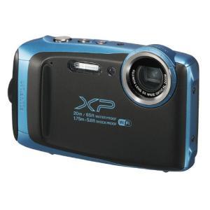 Bluetoothを搭載した防水、防塵、耐衝撃、耐低温タフネスカメラ。 ●カラー:スカイブルー ●焦...