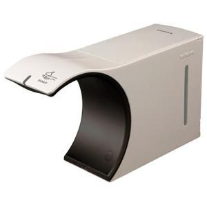 オシャレなフォルム。1回で手洗いに必要なハンドソープを自動で吐出。(吐出量約2mL) ●液体ハンドソ...