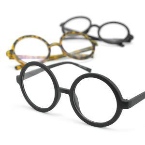 存在感のある大きめサイズの丸メガネはインパクト大!お手軽に印象をガラッと変えてくれる伊達メガネはコー...
