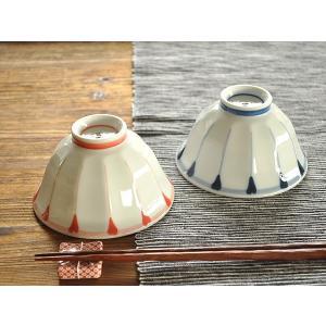 茶碗 おしゃれ 和食器 ご飯茶碗 美濃焼  お茶碗 菊十草ソギ夫婦茶碗