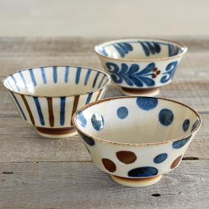 茶碗 おしゃれ 和食器 モダン ご飯茶碗 美濃焼 かりゆし ぱいかじ反型茶碗