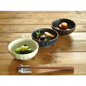 小鉢 食器 おしゃれ 和食器 美濃焼 ボウル 小付け 菊形4.0小鉢