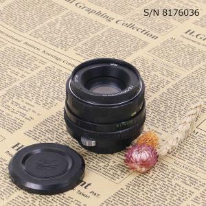【保証付 】【中古】 オールドレンズ Helios (ヘリオス) 44M 58mm F2 M42マウント S/N 7946803 (ポーチ付)|mi-na