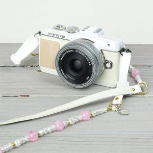 カメラストラップ camera strap 一眼レフ ミラーレス一眼用 ミルクシュガー|mi-na