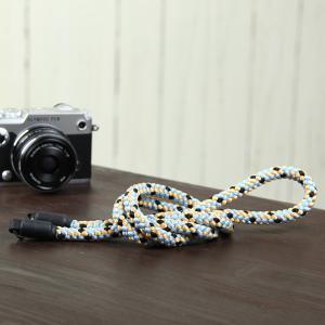 カメラストラップ camera strap 一眼レフ ミラーレス一眼用 ロープストラップ 組紐カメラストラップ 花鳥風月 mi-na