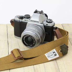 カメラストラップ camera strap 一眼レフ ミラーレス一眼用 H.L.キャメル フリータイ...