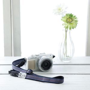 カメラストラップ camera strap 一眼レフ ミラーレス一眼用 ドットラインsanadacord フリータイプ|mi-na|02