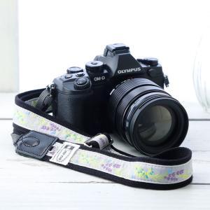 カメラストラップ camera strap 一眼レフ ミラーレス一眼用 スズラングレー フリータイプ mi-na
