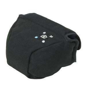 カメラケース camera case ミラーレス一眼カメラ用 カメラのお洋服 ミニ / ブラック 帆布 needlework(刺繍)シリーズ|mi-na