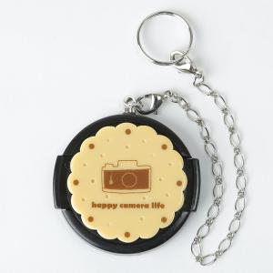 【40.5mm】デコレンズキャップ/ビスケットカメラ|mi-na