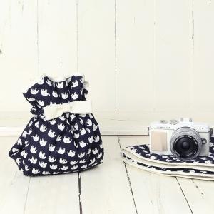 カメラ女子♪ミラーレス一眼カメラが入る!かわいいラッピングクロス「カメラのくるみん」 ハッピーエレフ...