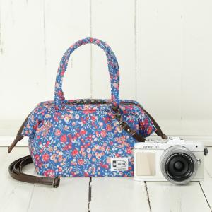 口金入り♪2WAYミニボストン型カメラバッグ camera bag/BerryField mi-na