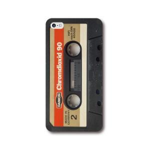 カセットテープ 全機種対応 ハードカバー スマホケース iPhone7 iPhone7Plus iPhone6 6s 6plus SE Xperia Galaxy S7edge|mi1