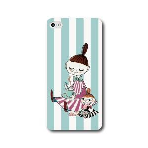 ミムラとリトルミイ ブルー 全機種対応 ハードカバー スマホケース iPhone7 iPhone7P...