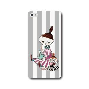 ミムラとリトルミイ グレー 全機種対応 ハードカバー スマホケース iPhone7 iPhone7P...
