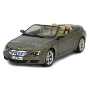 BMW M6 [Brown] 1/18 Maisto 444...