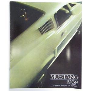 1968 Ford Mustang Full Color Sales Brochure カー パンフレット(輸入品) 1冊 1760円
