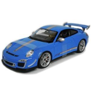 ポルシェ 911 GT3 RS 4.0 Blue 1/18 ...
